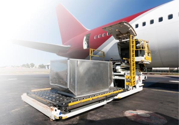 Transporte aéreo refrigerado o congelado